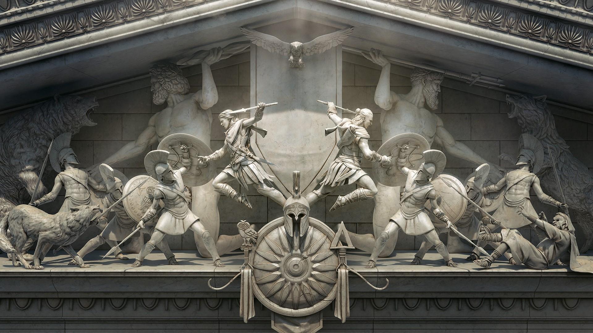 クリード 彫刻 アサシン オデッセイ